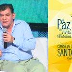 #Ahora interviene @LeonVaLenciaA Director fundación Paz y Reconciliación. #CumbreGobernadores https://t.co/RBCG3bkv62