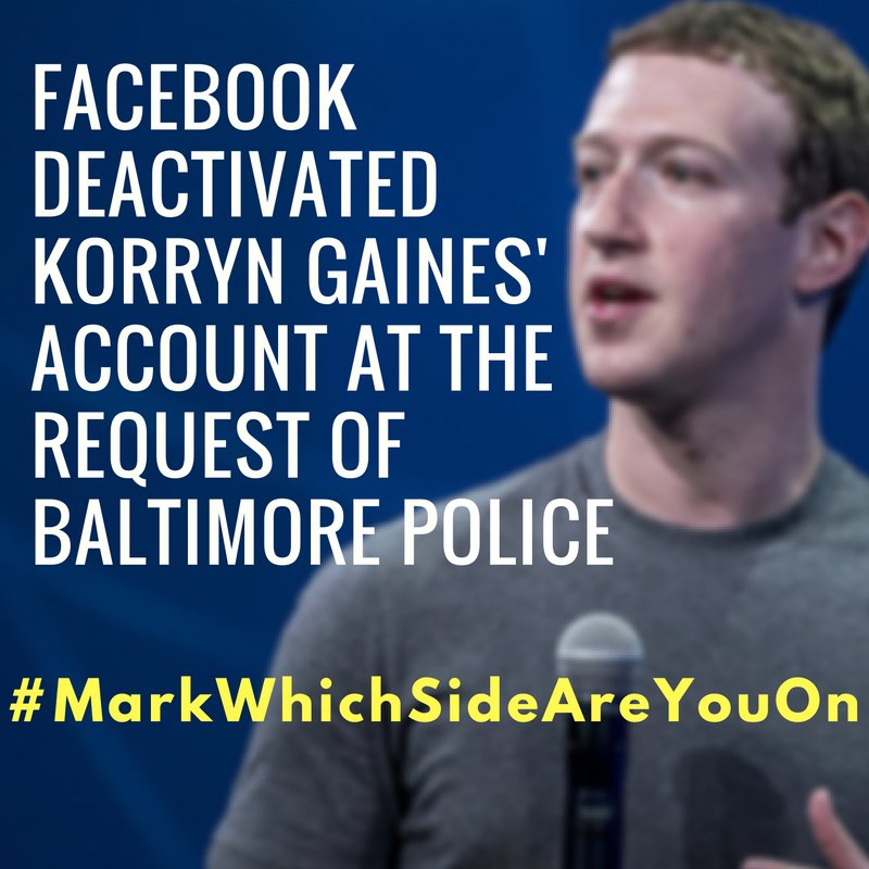 .@Facebook, you have to do more than just say #BlackLivesMatter. #MarkWhichSideAreYouOn https://t.co/5lmXZCp3es