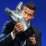 Ningún jugador ha ganado más veces el premio al Mejor Jugador en Europa que Cristiano Ronaldo dos Santos Aveiro. https://t.co/2SknXMLnFi