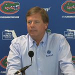 WATCH: Nine days away from gameday, @GatorsFB HC Jim McElwain provides a practice update. https://t.co/0gcWmt3FqI https://t.co/dGwX0bnn5E