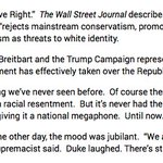 In Reno -- @HillaryClintons speech will mourn the effective fall of the Republican Party to the alt-right. Excerpt: https://t.co/BivJ1CpR8y