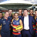 .@Adelaide_FC players will make a powerful gestures against racism tonight https://t.co/ftNCSMDOFT #AFL #EdSetLegend https://t.co/4Qi7lEYGYt