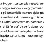 Helt enig m @AStouge fra @DanskEnergi: Vigtigt at se tværgående på sektoren: https://t.co/ynd1003rMS #dkpol #dkgreen https://t.co/M36Uy2CxUR