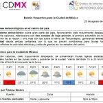 Se esperan lluvias en la #CDMX https://t.co/otIMOVy6dy