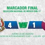 #Sub17 😃 Debutamos con victoria en el #TorneoDeNaciones superando a @QFA. https://t.co/PlXpCft3OL