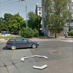 Šis ir anekdote: reg. pāreja pāri iebrauktuvei uz nelielu stāvvietu. Bija t-krust. @rdsvc @RigasDome #lacplesaiela https://t.co/1QTRHUzgq4