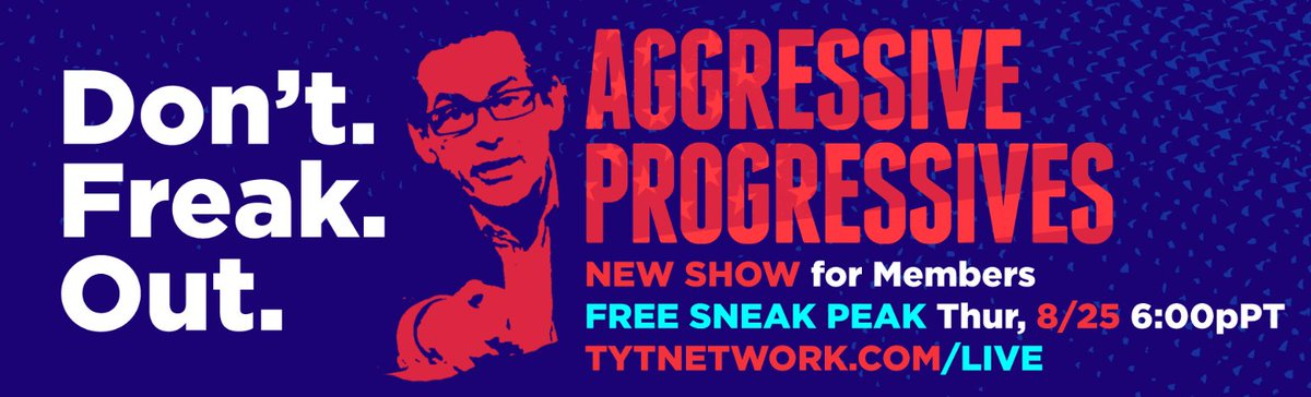 FREE sneak peak of Aggressive Progressives  https://t.co/TPi1UFqAFy tonight at 6:00 PT!! @jimmy_dore [Can't wait!!] https://t.co/G4fc0eIT7t