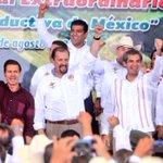 En la inauguración del 78 Congreso Nacional Extraordinario de la @CNC_CEN, que encabeza el Presidente @EPN. #Nayarit https://t.co/jn59lK482c