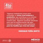 Impulsamos al #CampoMexicano para el bienestar de las familias de México: @EPN https://t.co/aMFadDAwxD https://t.co/XZJsoKHNl0