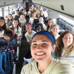 Start of our first road trip. Heading south to play @ACU_Soccer. #ORUWsoc https://t.co/WOZNwc0rz2