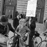 What a #SanFrancisco bike protest looked like in 1972. #OurSF via @peterhartlaub https://t.co/Fe1ZI9A8w2 https://t.co/7wPDI2gwmV