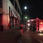 A look at Providence Place right now. Several fire trucks responding to power outage @ABC6 https://t.co/CWKUxCTvxR