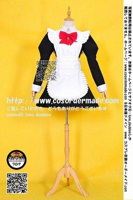 コスプレ衣装オーダーメイド例:有川 ひめ (ひめゴト)のコスプレ衣装はスカートの広さが忠実的に再現され、細部まで、丁寧に