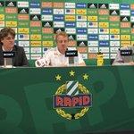 """Trainer #Büskens: """"Wir sind sehr glücklich über den Einzug. Gratulation an die Mannschaft und den Verein."""" #SCRast https://t.co/G0XQ6BkPwr"""
