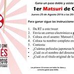 Sigue las instrucciones y podrás asistir a la inauguración del #MatsuriJaponésCinemex en #CDMX HOY 8:00 pm https://t.co/fQwfzwNqdv