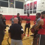 WELCOME BACK! @SeanKilpatrick visited with some of the guys after their workout sessions. #Bearcats @BrooklynNets https://t.co/TP0WPx39h7