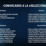 ¡Estos son los convocados de @miseleccionmx para los próximos encuentros! ¿Qué opinas? https://t.co/z1oAS98ILQ