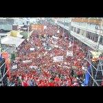 Pueblo Larense en multitudinaria movilización, ratifica su compromiso revolucionario y se restea con @NicolasMaduro https://t.co/TOWOFIxKds