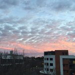 The view from our building in East Perth this morning. Please send us your pics! #perthnews https://t.co/yqeq3fkGh9
