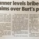 """@adamgiles must today rule out that he has offered Burt the crocodile a 4WD,"" the Labor leader said #ntpol #ntvotes https://t.co/douxB11LWV"