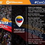 Este #1S venezolanos en el mundo también se movilizarán para alzar su voz por el revocatorio ¡Todos a la calle! https://t.co/dCdR9wmyld