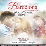 JacKiko_CBY: #BarcelonaTrailerWorldPremiere / #PushAwardsKathNiels two hundred five https://t.co/uIHFqehBqb