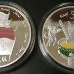 ラトビアの5ユーロ銀貨ほしい・・・ https://t.co/tf3nSi1Ikl