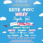 Big announcements on the @CircleFestival line up! Roll on October 1st! https://t.co/J4LDfO02vX