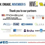 .@hamiltonhive #HIVEX2016 partners. Be part of the biggest #HamOnt young professional event👉 https://t.co/Ct3VqBi8uC https://t.co/kNsYg1XsZo