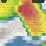 ATENTOS: Fuerte tormenta en la zona norte de #CDMX extendiéndose al Oriente con potencial de granizo y viento fuerte https://t.co/rh97kL94dj