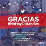Gracias Ecuador por ayudarnos a demostrar que #NoHayDistancias para cumplir sueños, y para obtener tu título tampoco https://t.co/5qadLhYJeN