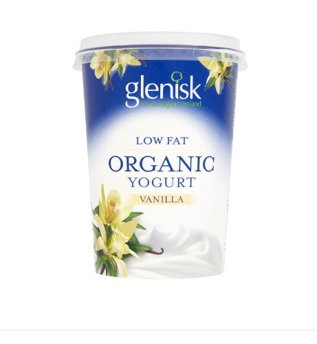 Glenisk Organic Low Fat Vanilla Yogurt (450 Grams) https://t.co/4sUhng7VHx