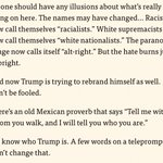 Now, this might be the first time I remember HRC calling out racists in clear, plain language: https://t.co/hqfbqvXgiz