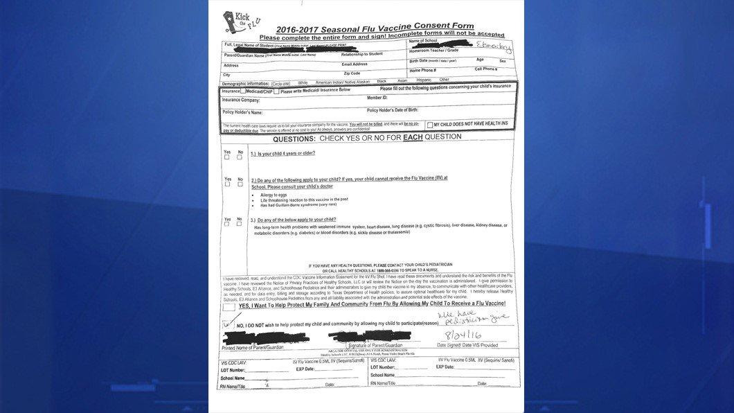 Aisd School Vaccine Consent Form Sparks Parent Uproar: - Scoopnest.Com