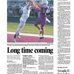 @Jon_Blau with a great read on @BSouthFootball WR Luke Jager on Fridays @theheraldtimes Sports front. https://t.co/WfMO3XuGe6