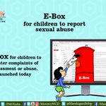 #eBox is a revolutionary idea through which children can seek help while their identity is protected. https://t.co/ISkmYrDLLF