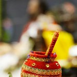 The pot of abundance! Janmashtami celebrations with Gurudev @SriSri at @BangaloreAshram https://t.co/DIUmcq7G40