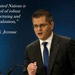 @jeremic_vuk the next United Nations Secretary-General. @UN @CIRSD #CMJP https://t.co/Z7rV40kUWC