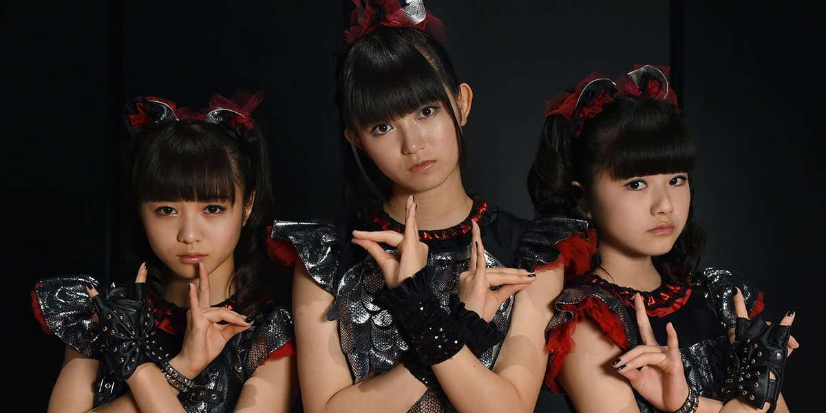 .@BABYMETAL_JAPAN to support Red Hot @ChiliPeppers on their UK tour; https;//t.co/UrMvZwyTV7 http...