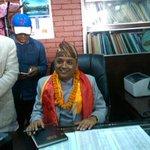 Health Minister Gagan Thapa assumes office | https://t.co/FVP3SKzXYL @thapagk https://t.co/GOEAATueb2