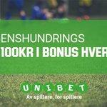 #dagenshundrings - Tipp rett res. på Bayern München-Werder Bremen, få 100kr i bonus! https://t.co/FRfhgRvri1 https://t.co/dbcF9Oxb77