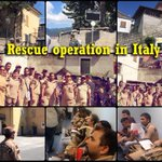 Blessings to @derasachasauda volunteers lending a helping hand to the victims of earthquake in Italy. Great work! https://t.co/ngm5McVaGI