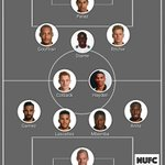 This is my guess for tomorrow! #NUFC ⚫⚪⚫⚪⚫ Pick your team: https://t.co/Q3EoFm5tXD #nufc @SSportsToon https://t.co/blaMI3k8Jw
