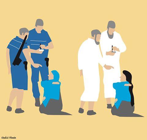 Obligar a vestirse o a desvestirse a una mujer tienen en común lo mismo:Oprimir. @khalidalbaih ayuda a verlo claro https://t.co/qJjG53utJX