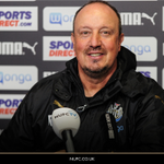 Good morning! Well be hearing from Rafa this afternoon when he meets the media before tomorrows game. #NUFC https://t.co/nLzdB6bT2P