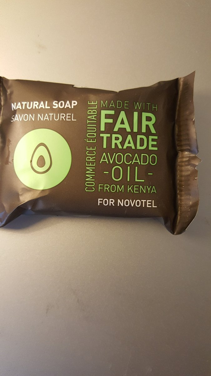 Small things that remind Africa that we have plentiful of opportunity.  My bathroom soap at Novotel in Vienna. https://t.co/KQjoFwxJiT