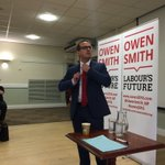 Interesting dynamic: Unite nationally backing Jeremy Corbyn, but local members seeming to lean towards Owen Smith. https://t.co/ESlb3bIpwW