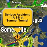 Investigation after a deadly crash in Sumner Tunnel--all lanes OPEN in tunnel but ramp to Govt Center closed #7News https://t.co/DRj0uMj0FO