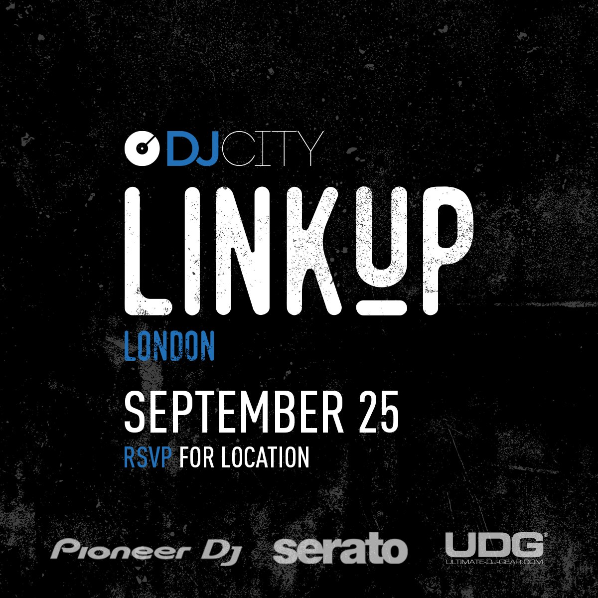 .@DJcityUK #LinkUp Sep 25th https://t.co/3Z8YAIoRCy https://t.co/Wd07Nezqlj