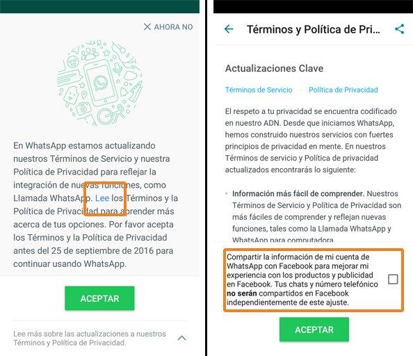 WhatsApp actualiza la política de privacidad, recuerda leer los términos antes de aceptarla si estás de acuerdo. https://t.co/pEfU9QO0SJ